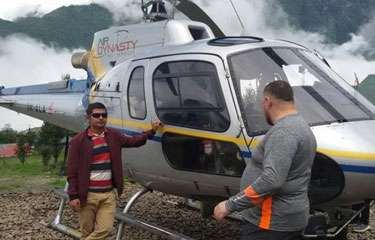 4 Days Nepal Everest Luxury Helicopter Tour