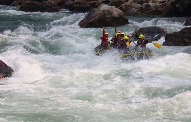 Tamur River Rafting